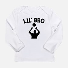 Lil Bro Volleyball Long Sleeve T-Shirt