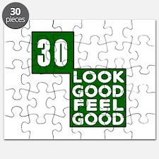 30 Look Good Feel Good Birthday Puzzle