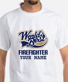 Firefighter Personalized Gift T-Shirt