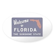 Welcome to Florida Vintage 70s - US Decal