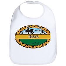 TRISTA - safari Bib