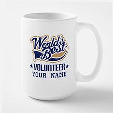 Volunteer Personalized Gift Mugs
