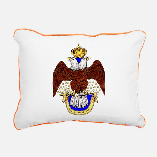 Scottish Rite Rectangular Canvas Pillow