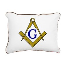 Masonic Rectangular Canvas Pillow