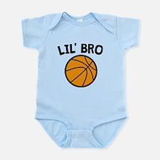Lil Bro Basketball Body Suit