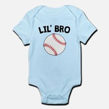 Lil Bro Baseball Body Suit