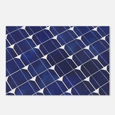 Cute Solar power Postcards (Package of 8)