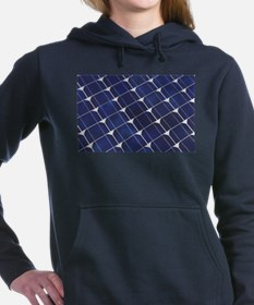 Unique Solar power Women's Hooded Sweatshirt