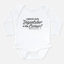Funny 911 dispatcher Long Sleeve Infant Bodysuit
