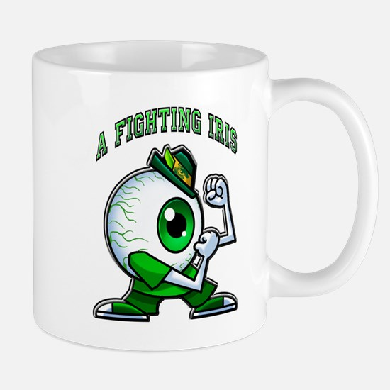 A fighting Iris! Mugs
