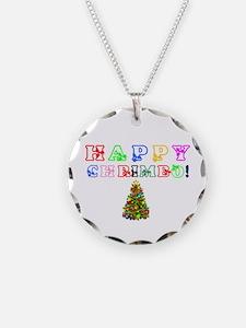 HAPPY CHRIMBO TREE! Necklace