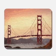 Golden Gate Bridge Inspiration Mousepad