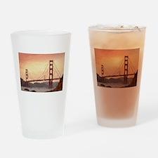 Golden Gate Bridge Inspiration Drinking Glass