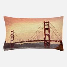 Golden Gate Bridge Inspiration Pillow Case