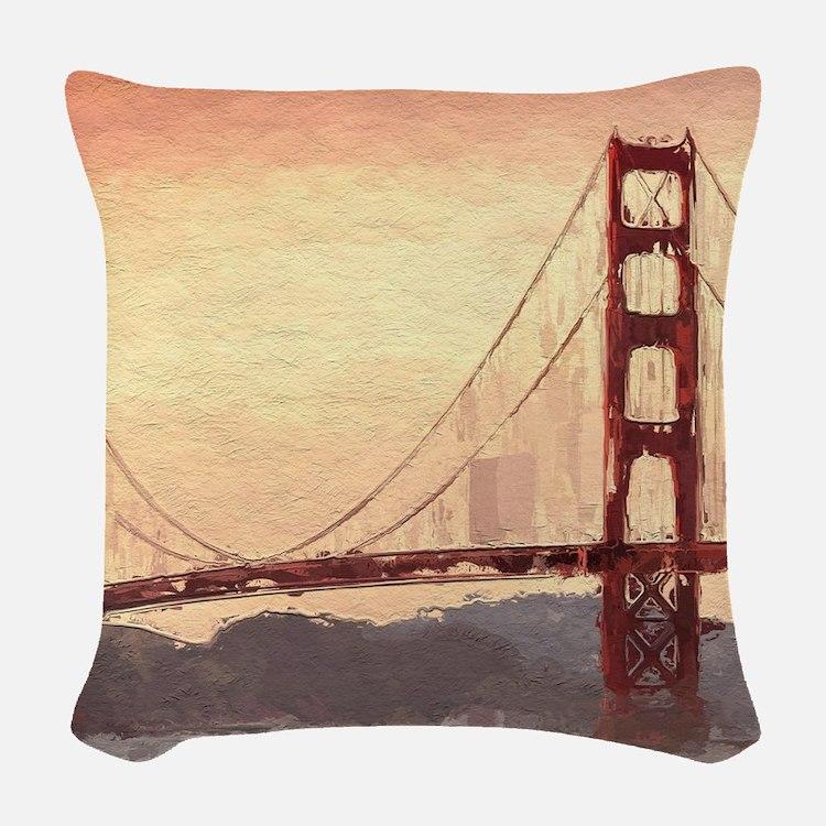 Decorative Pillows San Francisco : San Francisco Pillows, San Francisco Throw Pillows & Decorative Couch Pillows