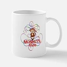 Monkeys Rule Mug