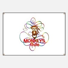 Monkeys Rule Banner
