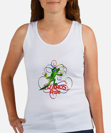 Lizards Rule Women's Tank Top