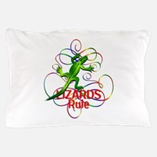 Lizards Rule Pillow Case