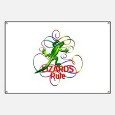Lizards Rule Banner