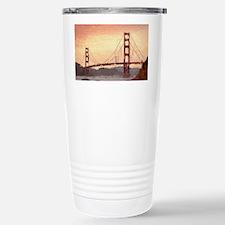 Golden Gate Bridge Insp Stainless Steel Travel Mug