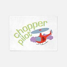 Chopper Pilot 5'x7'Area Rug