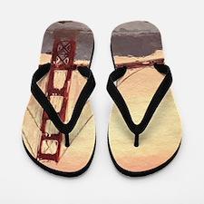 Golden Gate Bridge Inspiration Flip Flops