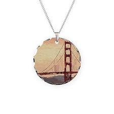 Golden Gate Bridge Inspirati Necklace
