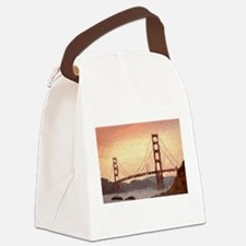 Golden Gate Bridge Inspiration Canvas Lunch Bag