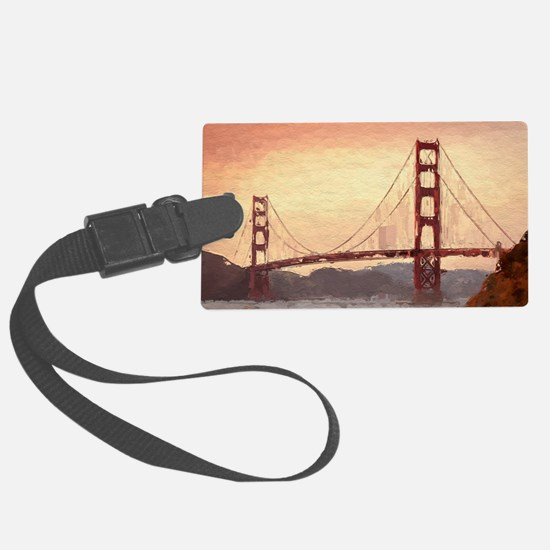 Golden Gate Bridge Inspiration Luggage Tag