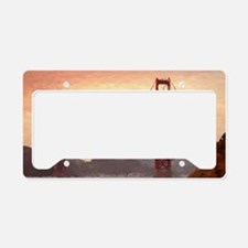 Golden Gate Bridge Inspiratio License Plate Holder