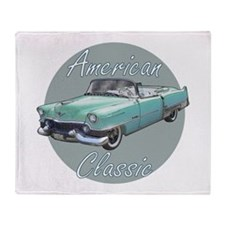 American Classic Cadillac Throw Blanket