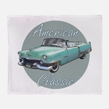 American Classic Cadillac Throw Blanket