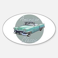 American Classic Cadillac Sticker (Oval)