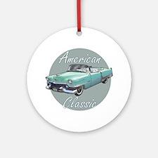 American Classic Cadillac Round Ornament