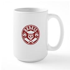 Badass Chef Red Mugs