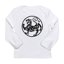 Cute American police Long Sleeve Infant T-Shirt