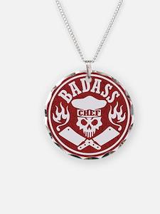 Badass Chef Red Necklace