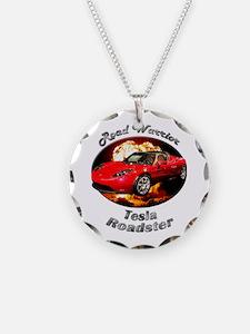 Tesla Roadster Necklace