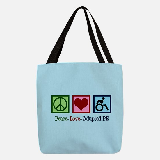 Adapted PE Teacher Polyester Tote Bag