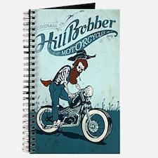 Bluegrass HillBobber Motorcycle Logo Journal