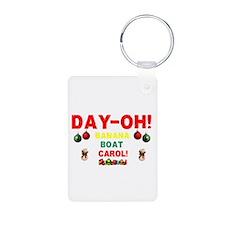 DAY-OH! BANANA BOAT CHRISTMAS CAROL Keychains