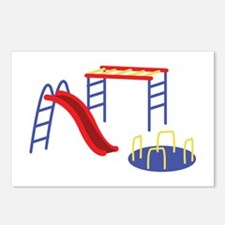 Playground Equipment Postcards (Package of 8)