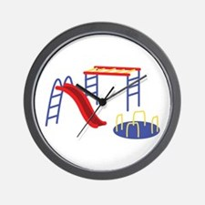 Playground Equipment Wall Clock