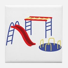 Playground Equipment Tile Coaster