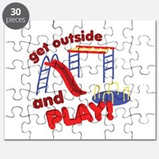 Outside And Play Puzzle