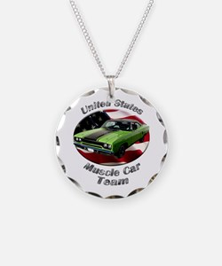 Plymouth Roadrunner Necklace