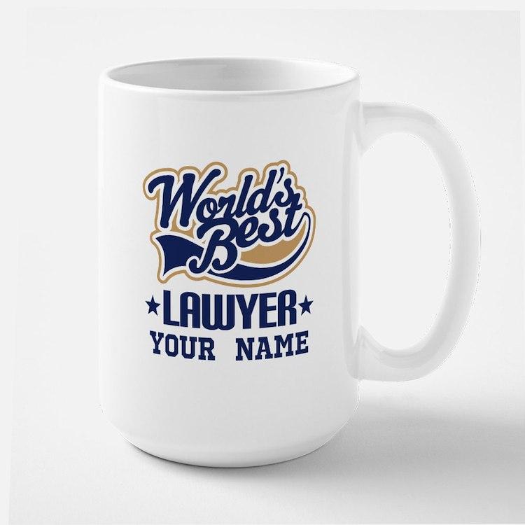 Worlds Best Lawyer gift Mugs