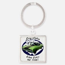 Plymouth Roadrunner Square Keychain