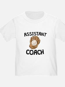 Assistant Softball Coach T-Shirt